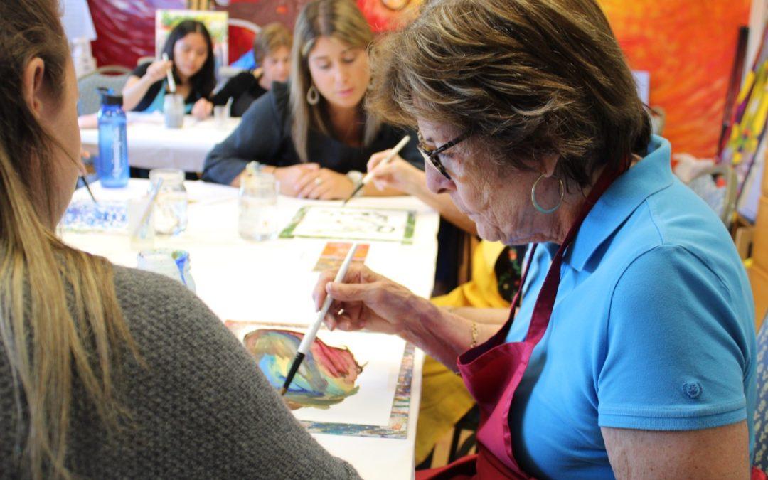 Intergenerational Opening Minds through Arts (OMA) program